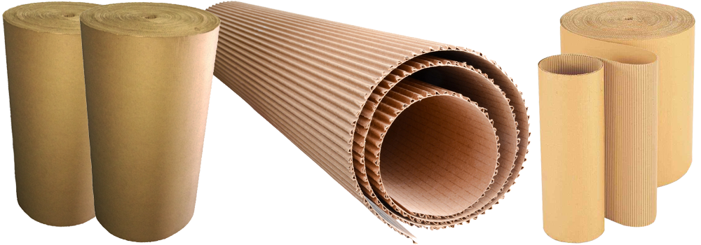 Staple and Packaging | Corrugated Cardboard Rolls